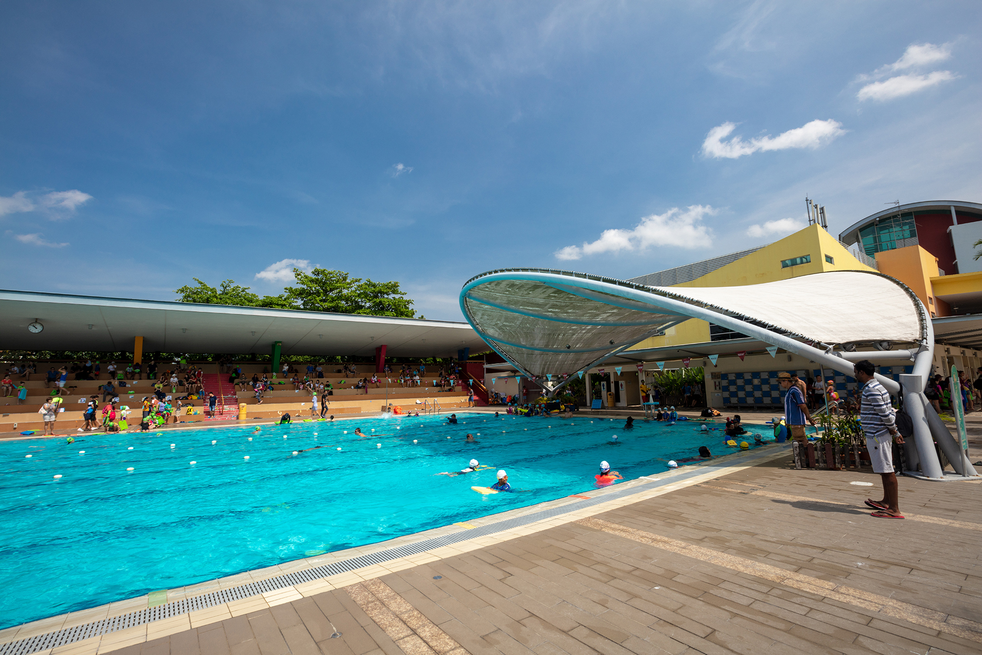 Sengkang Swimming Complex Powered By Singapore Swimming